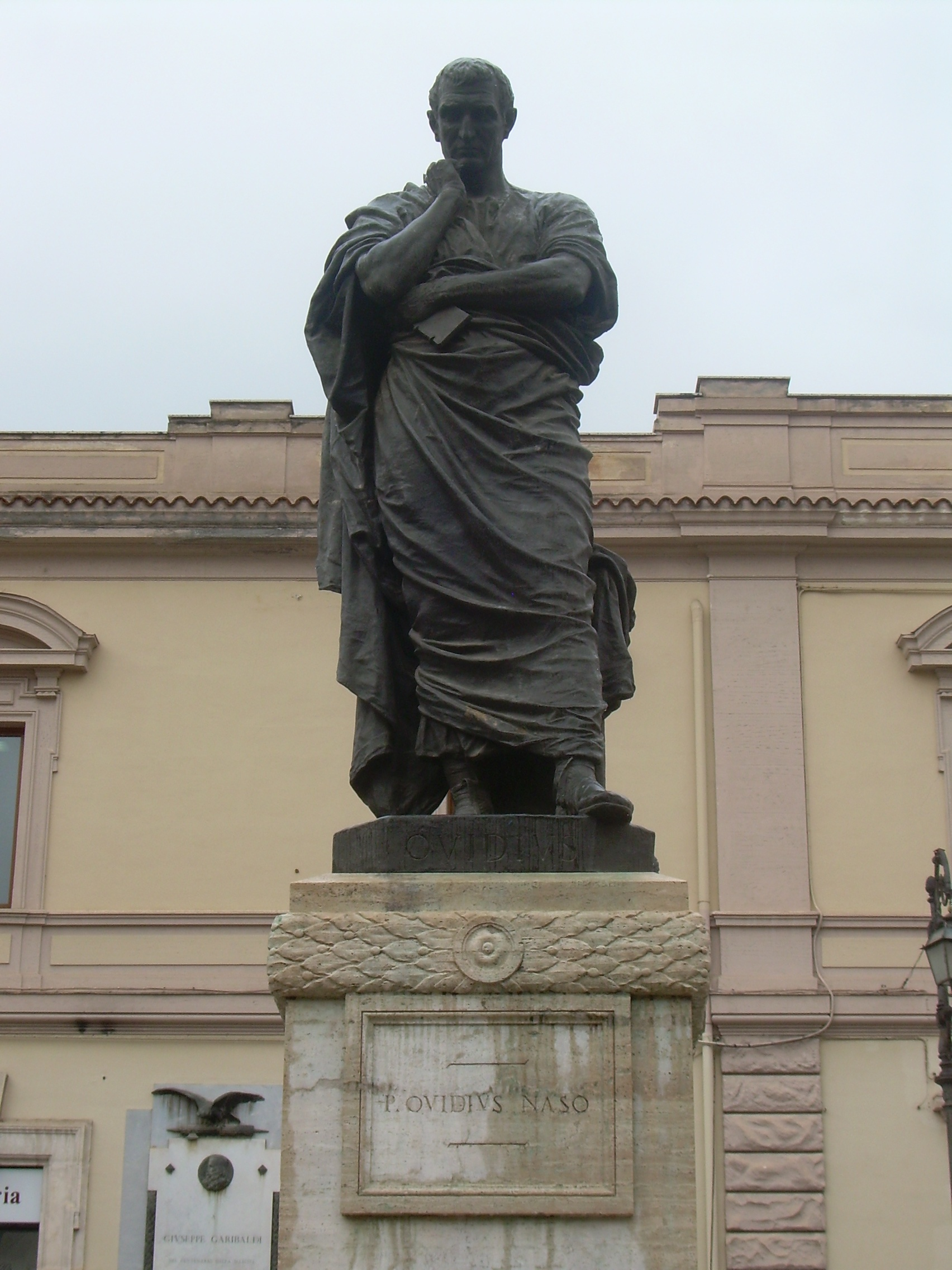 Image of statue in Rome